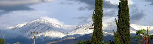 Mt San Gorgonio Snow Cover