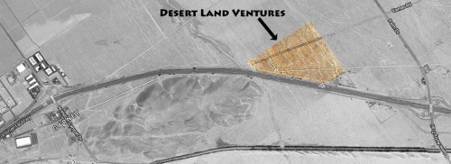Desert Land Ventures aerial view