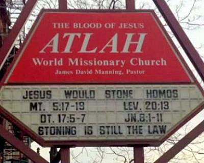 Jesus Would Stone Homos